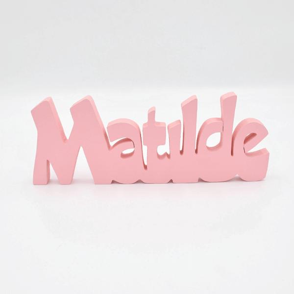 scritta nome Matilde
