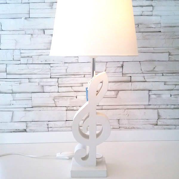 lampada chiave di violino