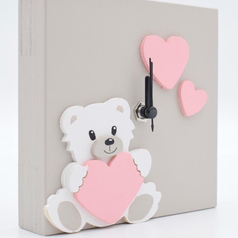 orologio orsetto rosa