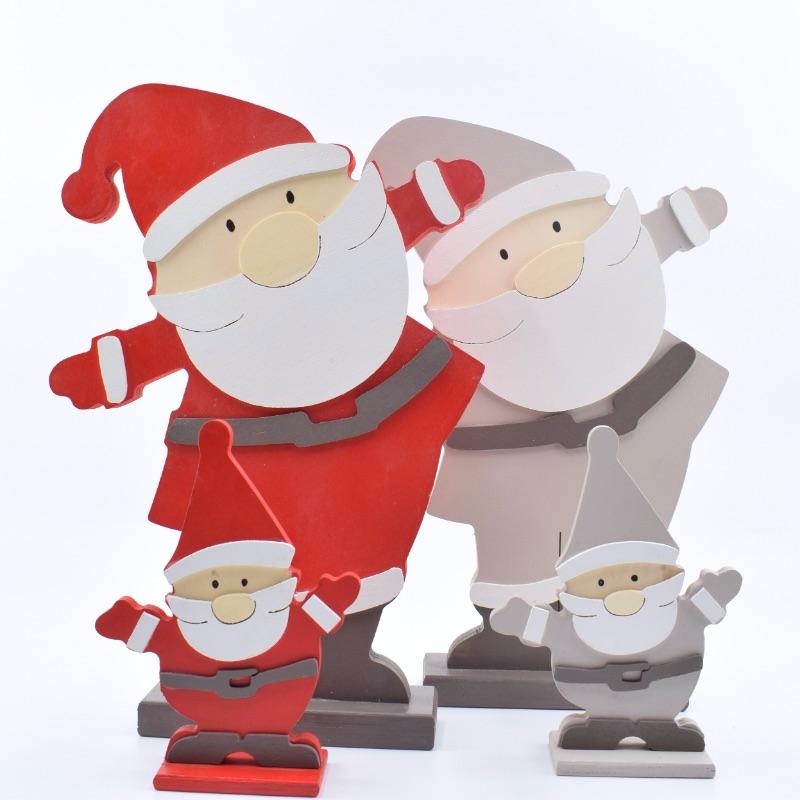 Babbo Natale big e piccolo