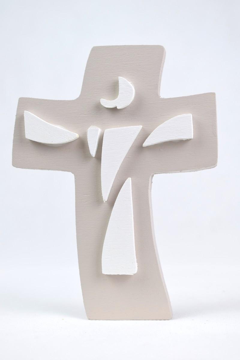 crocefisso Gesù bianco