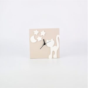 orologio con gatto