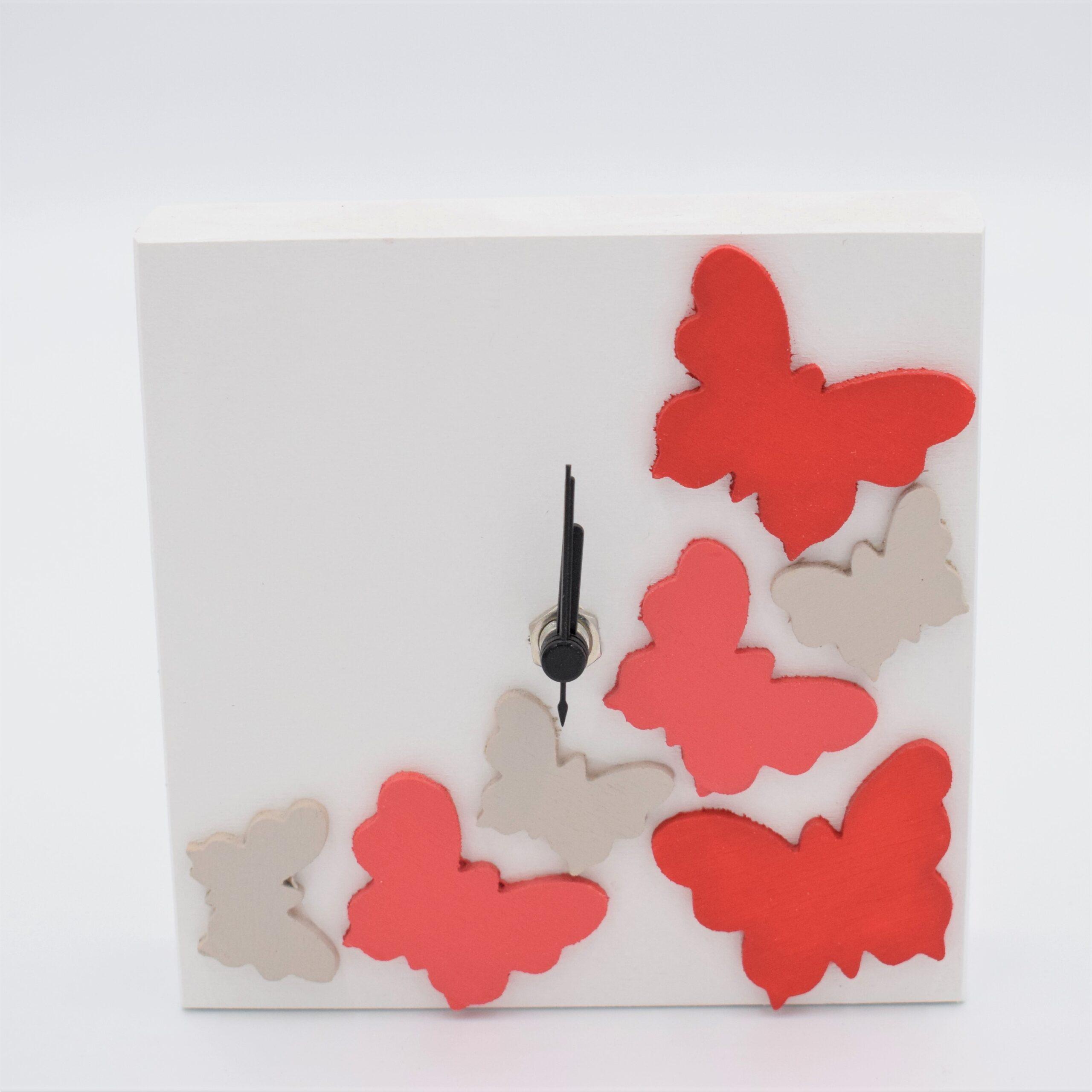 orologio farfalla rosso
