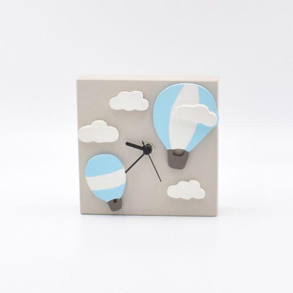 orologio tortora e azzurro