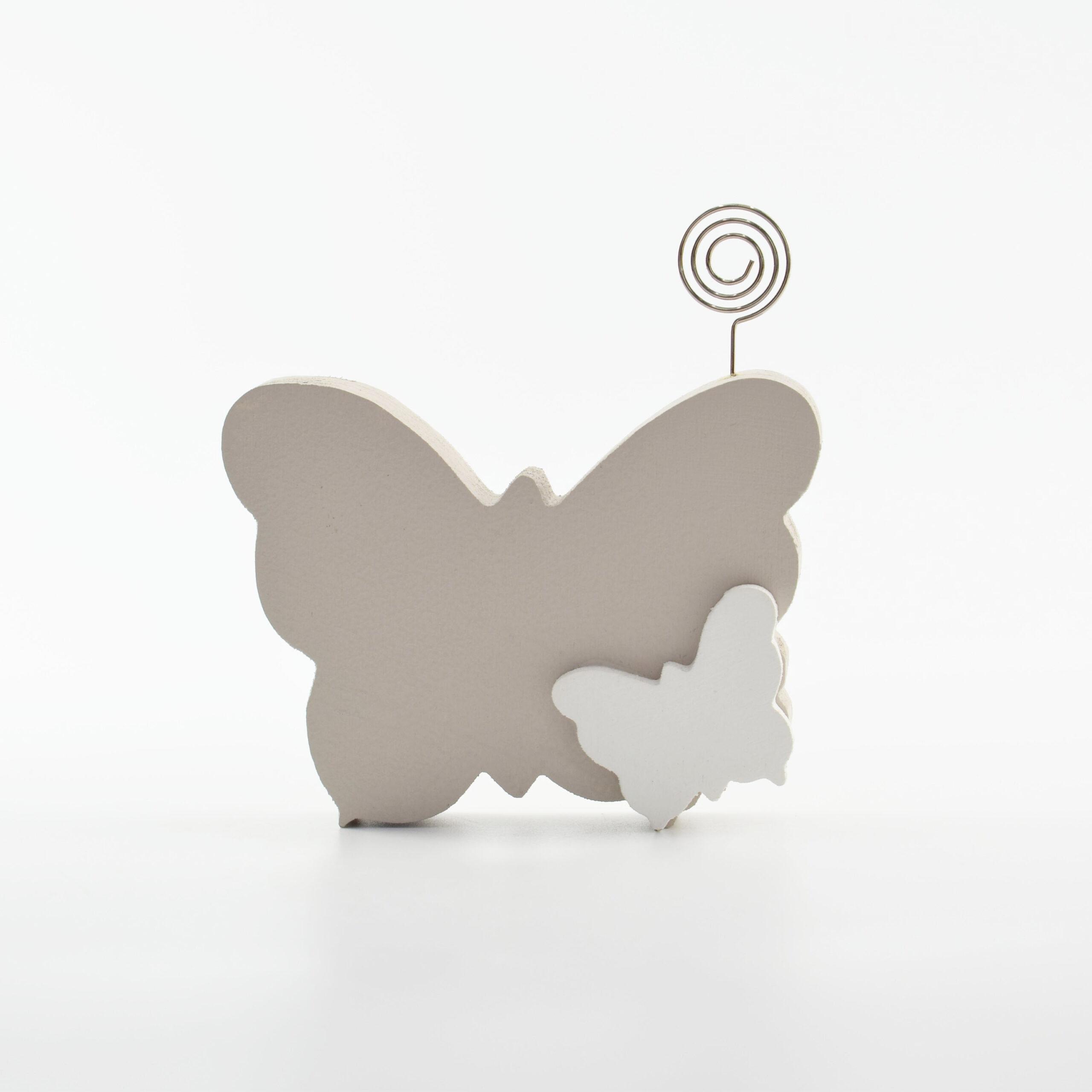 portafoto farfalla