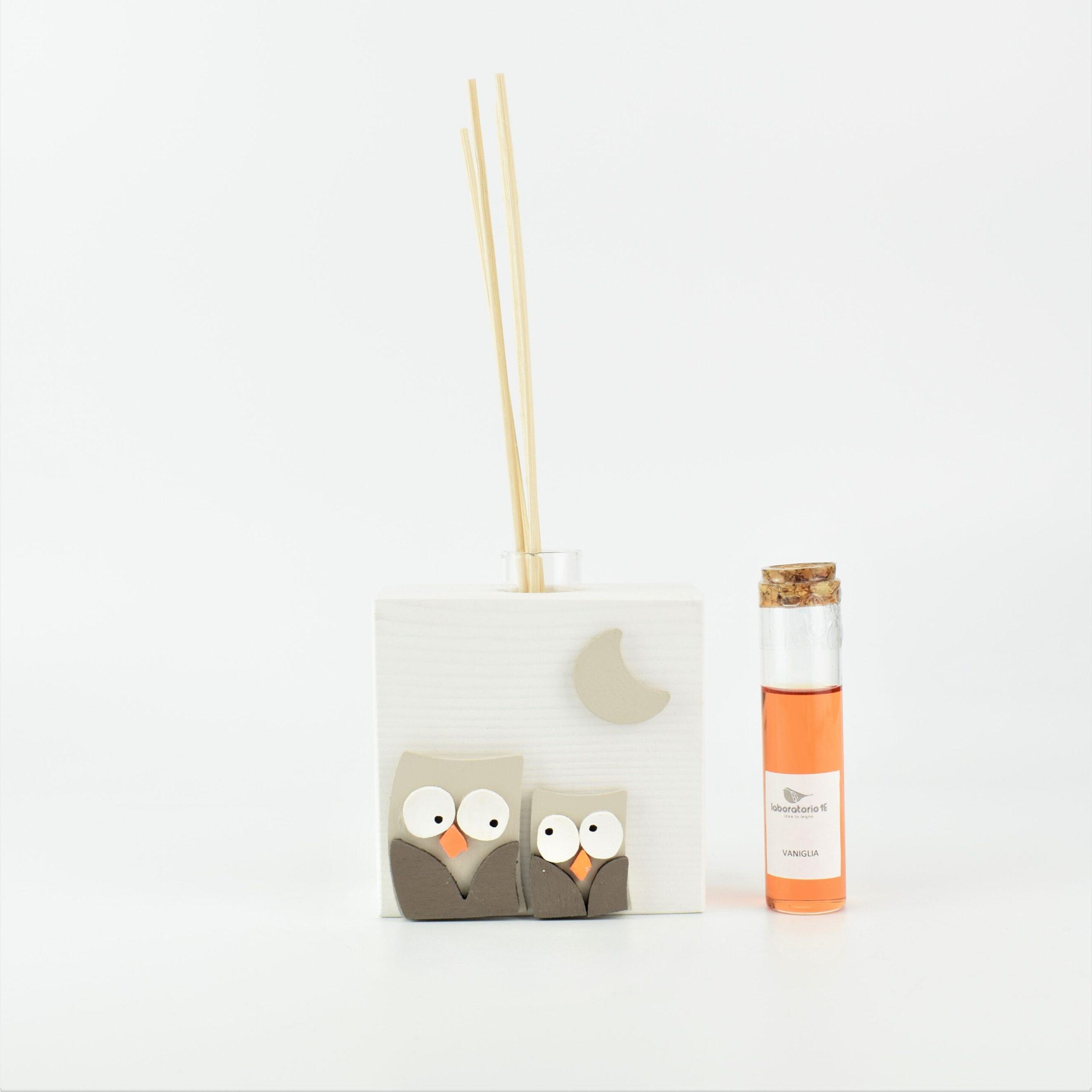 profumatori per ambiente con gufi