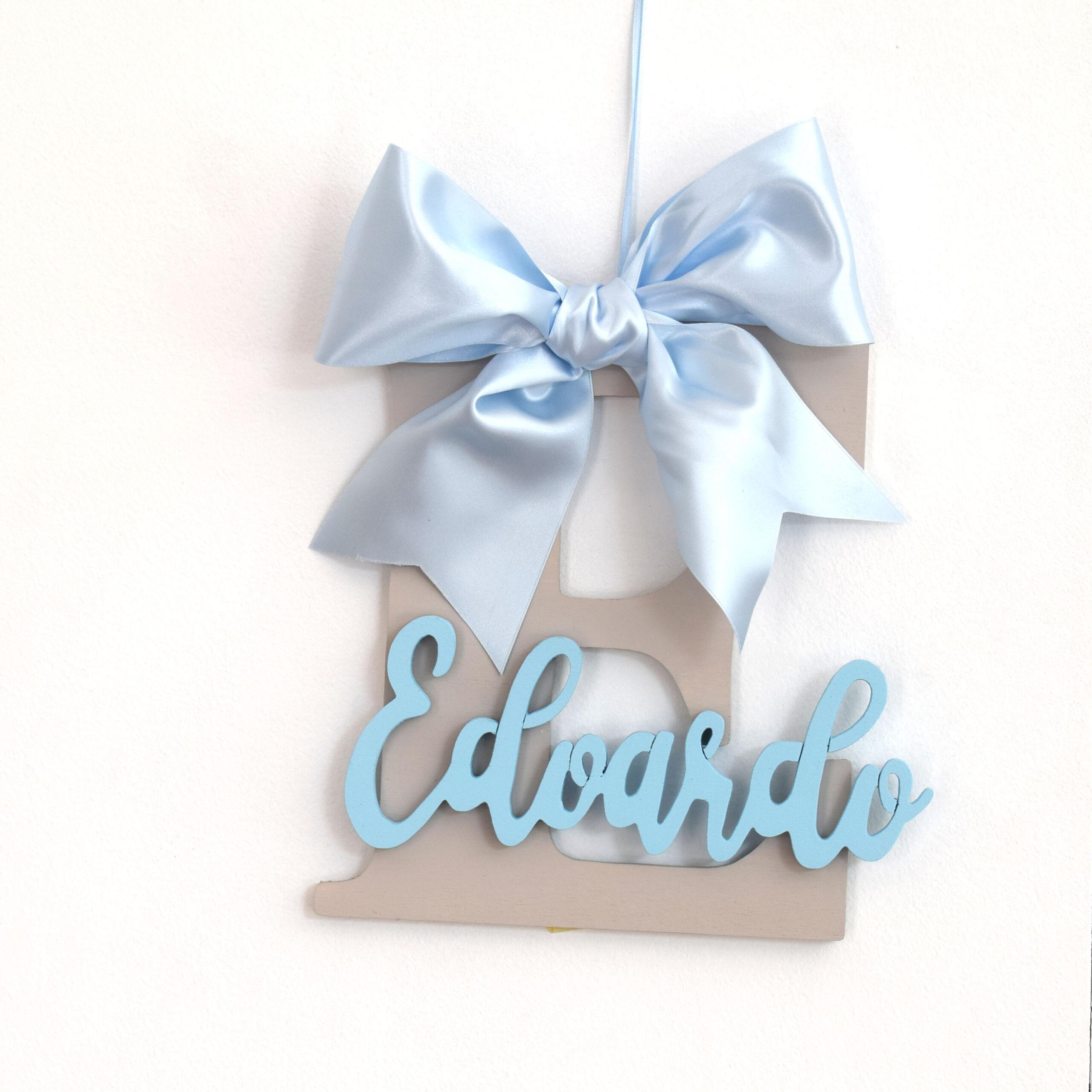 lettera nascita azzurra